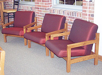 Corning hs library iowa prison industries - Library lounge chairs ...