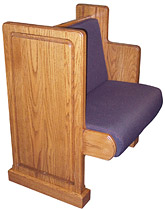 Upholstered Seat & Back
