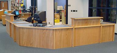 circulation desk - Library Circulation Desk Design