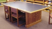 Library Tables-Custom