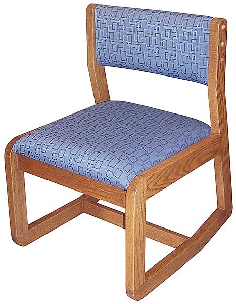Ames Upholstered 2 Position Chair Iowa Prison Industries