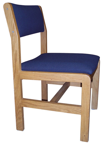 Ames Upholstered Leg Base Chair Iowa Prison Industries