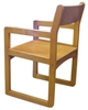 Ames Wood Sled Base Chair