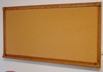 Bulletin Board, Oak Frame