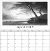 Monthly Photo Wall Calendar, 11x17