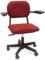 Pneumatic Chair, Upholstered
