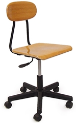 Pneumatic Chair, Melamine
