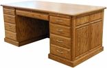 Directors Double Pedestal Desk