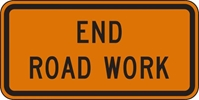 G20-2: END ROAD WORK 36X18