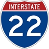 M1-1: INTERSTATE ROUTE SIGN ( # ) 24X24