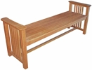 Mission Wood Benches