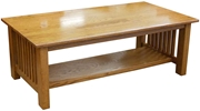 Mission Coffee Tables, Oak Top