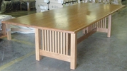 Mission Conference Table, Oak Top