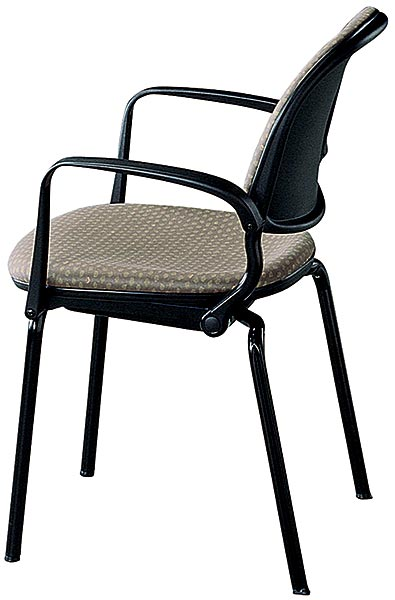 Navigator 4-Leg Chair, Upholstered
