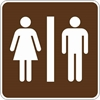 RS-022: RESTROOMS SYMBOL 12X12