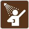 RS-035: SHOWERS SYMBOL 24X24