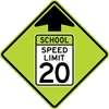S4-5: REDUCED SCHOOL (SPEED) AHEAD 36X36