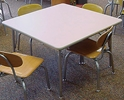 Activity Tables, Square