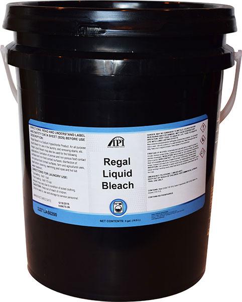 regal liquid bleach pail iowa prison industries. Black Bedroom Furniture Sets. Home Design Ideas