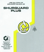LABEL SHURGUARD PLUS