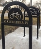 Arch Bike Rack with Personalization
