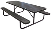 Poly-Coated Metal Picnic Tables
