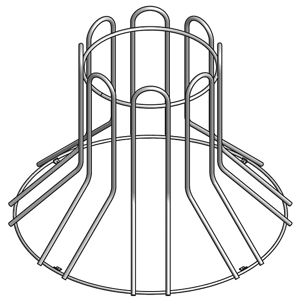 Circular Bike Rack, 8-Bike Capacity