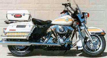 Sheriff Motorcycle Side View