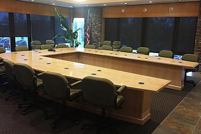 Custom Conference Table Photo