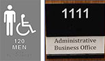 ADA & Interior Signs
