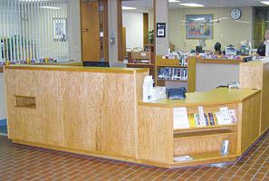 Circulation Desks Iowa Prison Industries