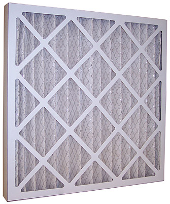 12x20x1 std cap pleated filter - iowa prison industries