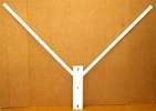 BRACKET FLAG DOUBLE HOLDER