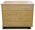 Paper Storage Cabinet, Laminate Top
