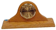 Carriage Clock, Oak, Large