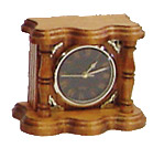 Mantle Clock, Small, Oak