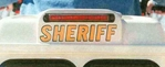 Sheriff Decal for Trunk