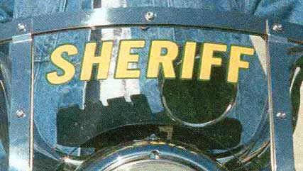Sheriff Decal for Windshield
