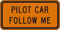 G20-4: PILOT CAR FOLLOW ME 36X18