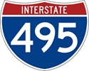 M1-1: INTERSTATE ROUTE SIGN ( # ) 30X24
