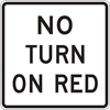 R10-11B: NO TURN ON RED 36X36