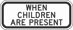 S4-2P: WHEN CHILDREN ARE PRESENT 36X18