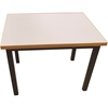 Steel Frame End Table, Laminate Top