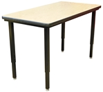 Modular Conference Table, Rectangular 24x60
