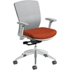 VXO Task Chairs, White/Silver