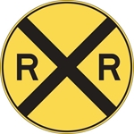 W10-1: RAILROAD CROSSING ADVANCE 36