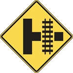 W10-3: RR CROSS-INTERSECT WARN SYMBOL 30X30