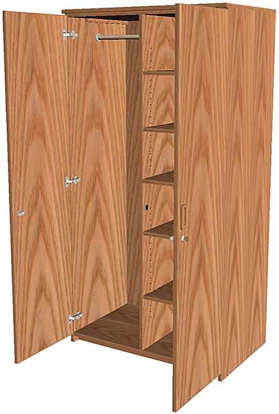 Wardrobe Storage Cabinets Full Height