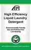 High Efficiency Liquid Laundry Detergent Pail