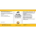 LABEL GLASS CLEANER
